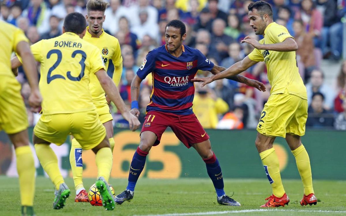 El Vila-real, la víctima preferida de Neymar Jr