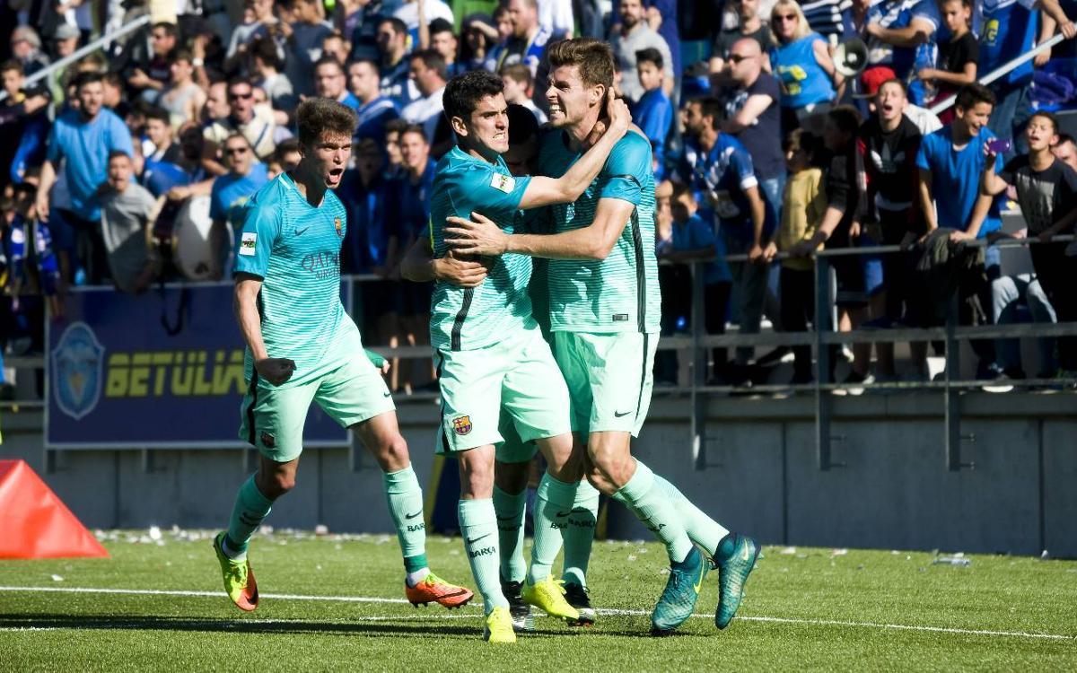 La mejor racha de la temporada del Barça B