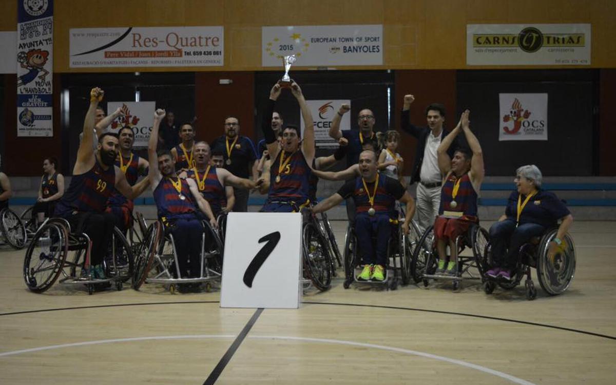 L'UNES FC Barcelona, campió de la Copa Catalunya!
