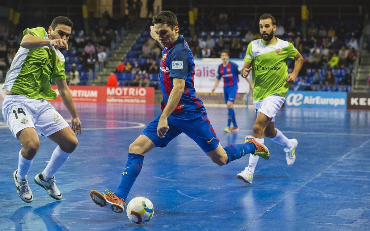 Horarios confirmados de toda la eliminatoria Palma Futsal-Barça Lassa