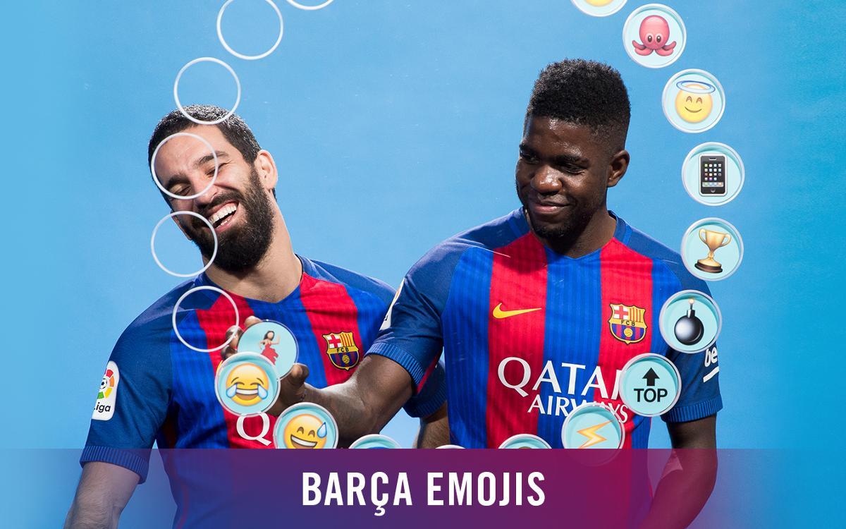 Vidéo - Umtiti et Arda Turan décrivent leurs coéquipiers du FC Barcelone en émojis