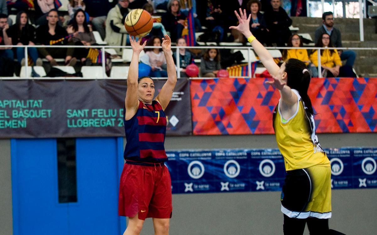 La UE Mataró, el rival del Barça CBS en la Final a Cuatro