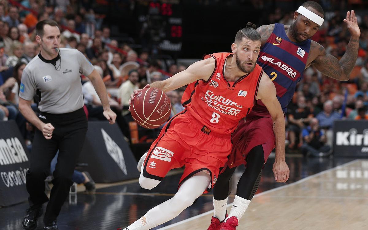 Valencia Basket - FC Barcelona Lassa: Derrota con final cruel (67-64)