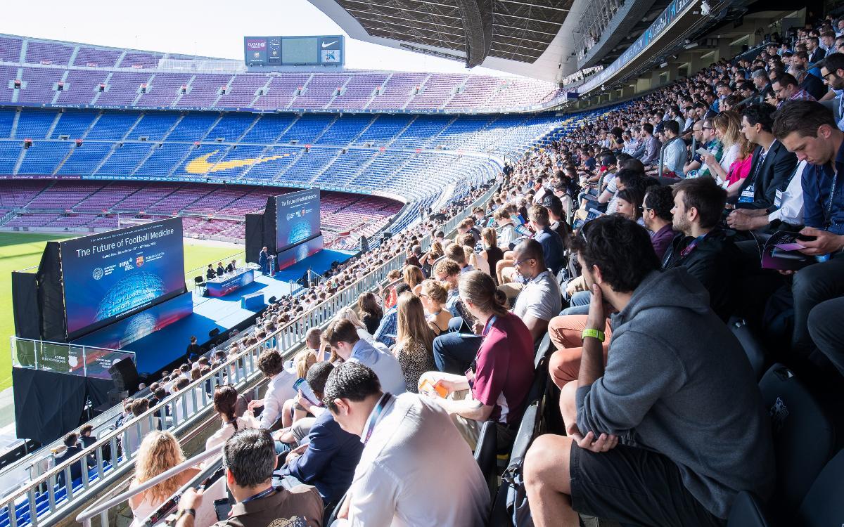 Gran éxito del congreso de medicina y ciencias del fútbol que el año que viene volverá al Camp Nou