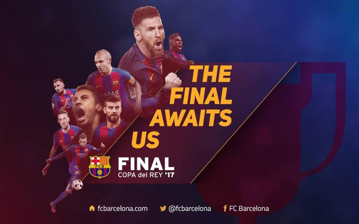 Vidéo : La finale de la Coupe du Roi nous attend