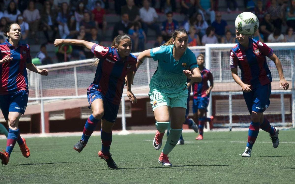 Levante v FC Barcelona Women: Just shy of the title (2-1)