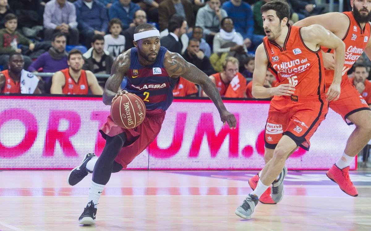 El València Basket, primer rival del Barça Lassa al play-off pel títol de l'ACB