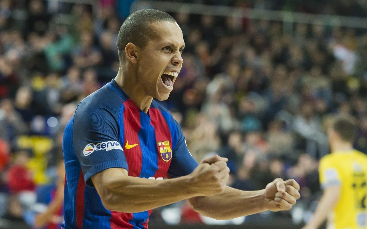 La temporada más goleadora de Ferrao en el Barça
