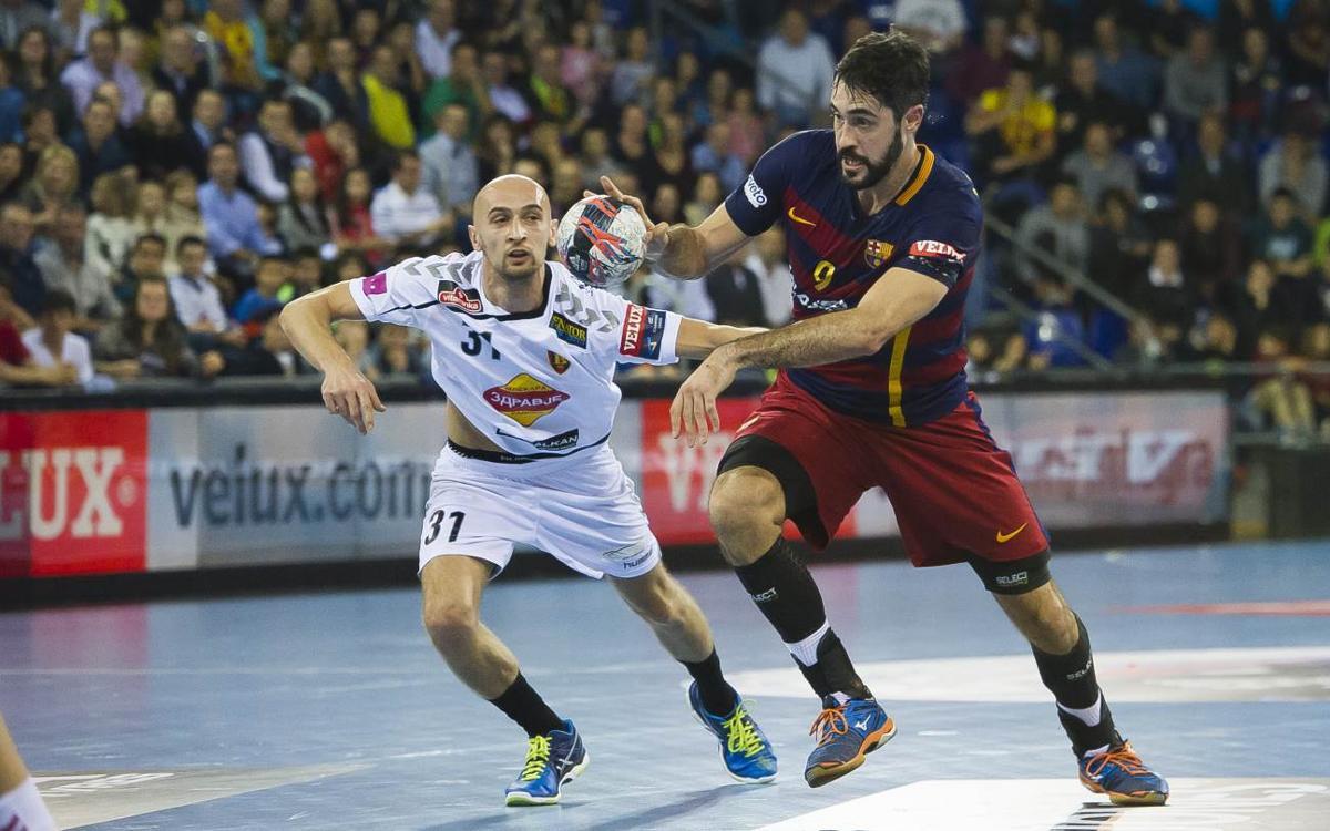 El Vardar será el rival del Barça Lassa en las semifinales de la Champions