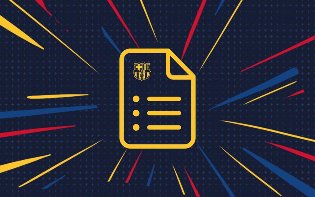 La normativa de la Copa Barça 2018
