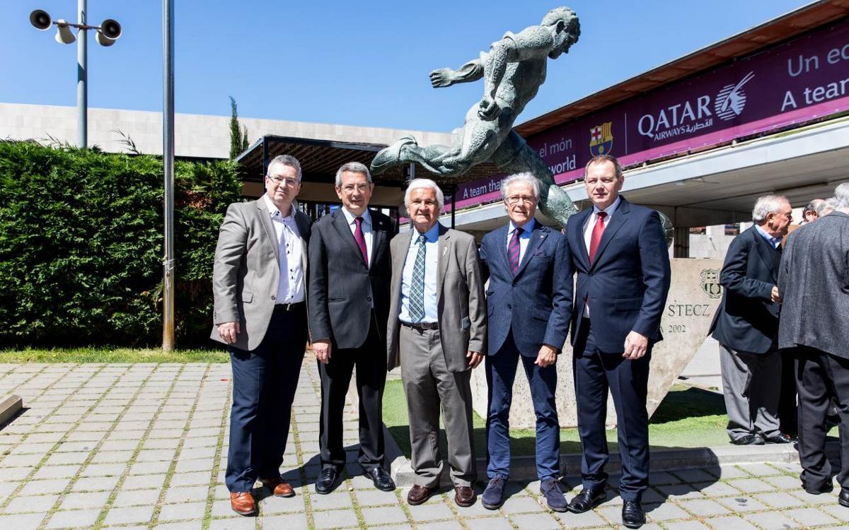 Presentació del llibre dedicat a Ladislao Kubala 'Aquel por el que se construyó el Camp Nou'