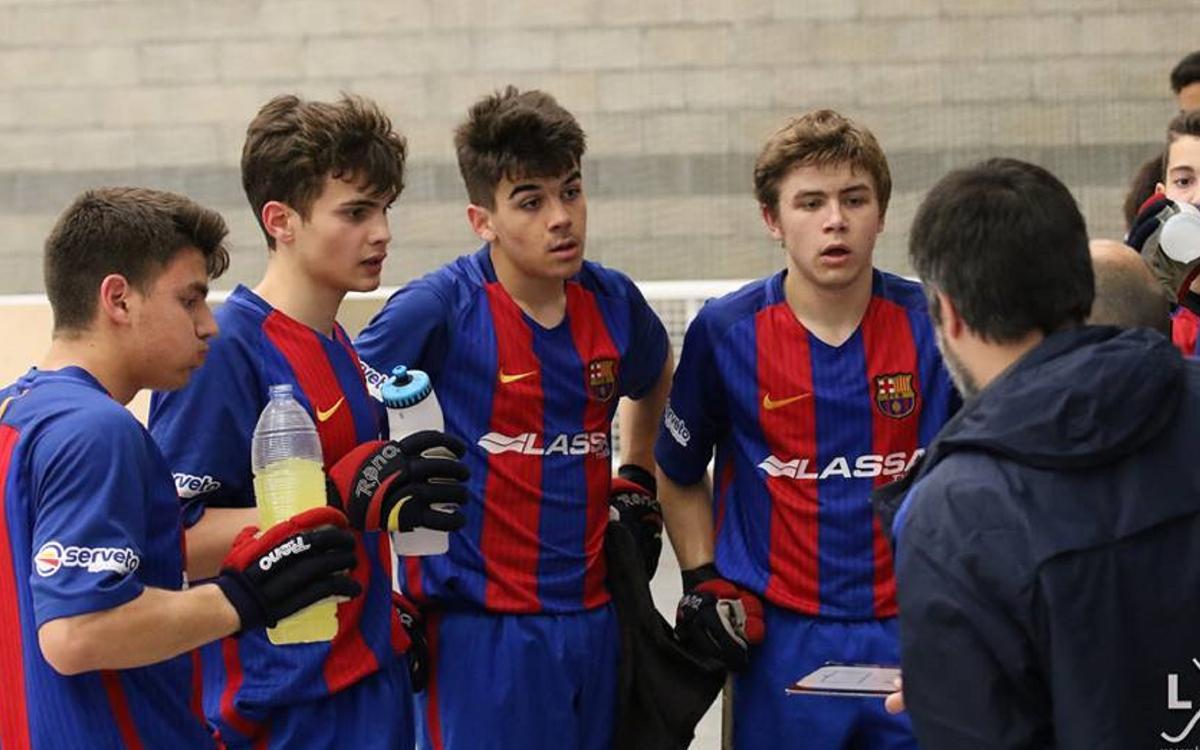 El Junior i l'Infantil, sots-campions d'Espanya