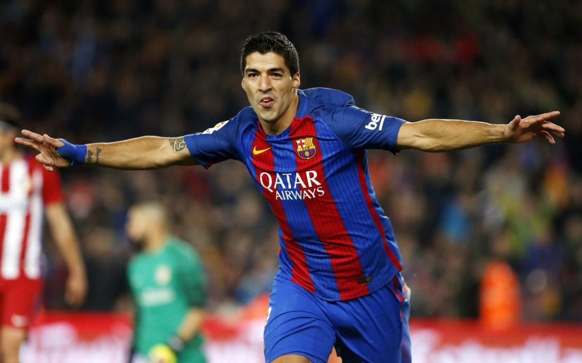 Luis Suárez, especialista en abrir el marcador esta temporada