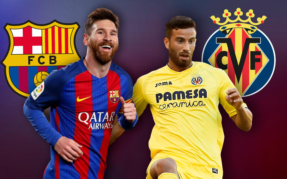 FC Barcelona and Villarreal: the best attack against the second best defence