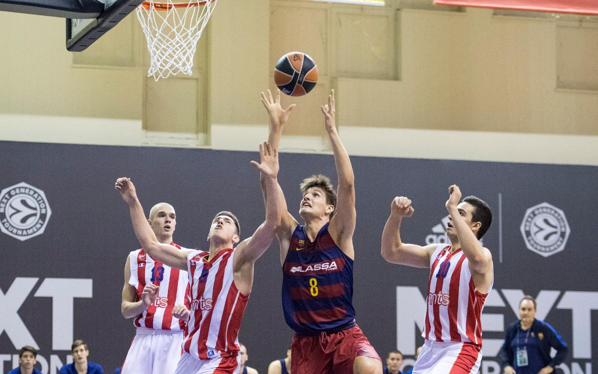 Estrella Roja – FCB Lassa: Se despiden del Next Generation Tournament con un recital (66-87)