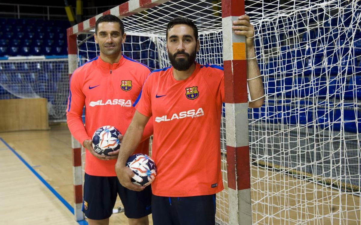Lazarov i Valero Rivera: el gol al servei de la Final Four