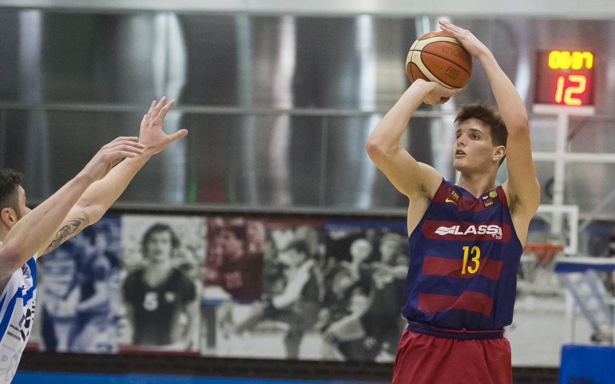 Sergi Martínez seguirá en el Barça Lassa hasta el 30 de junio de 2021