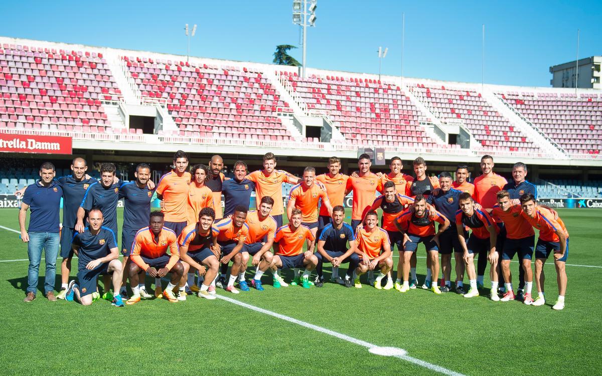 Barça B – CyD Leonesa: Todo preparado para trazar el camino