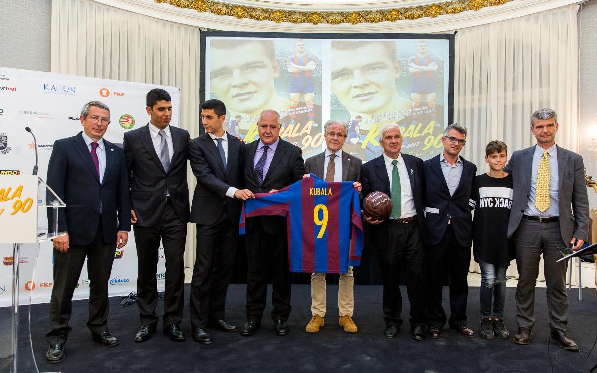 Conmemoración del 90 aniversario del nacimiento de Ladislao Kubala
