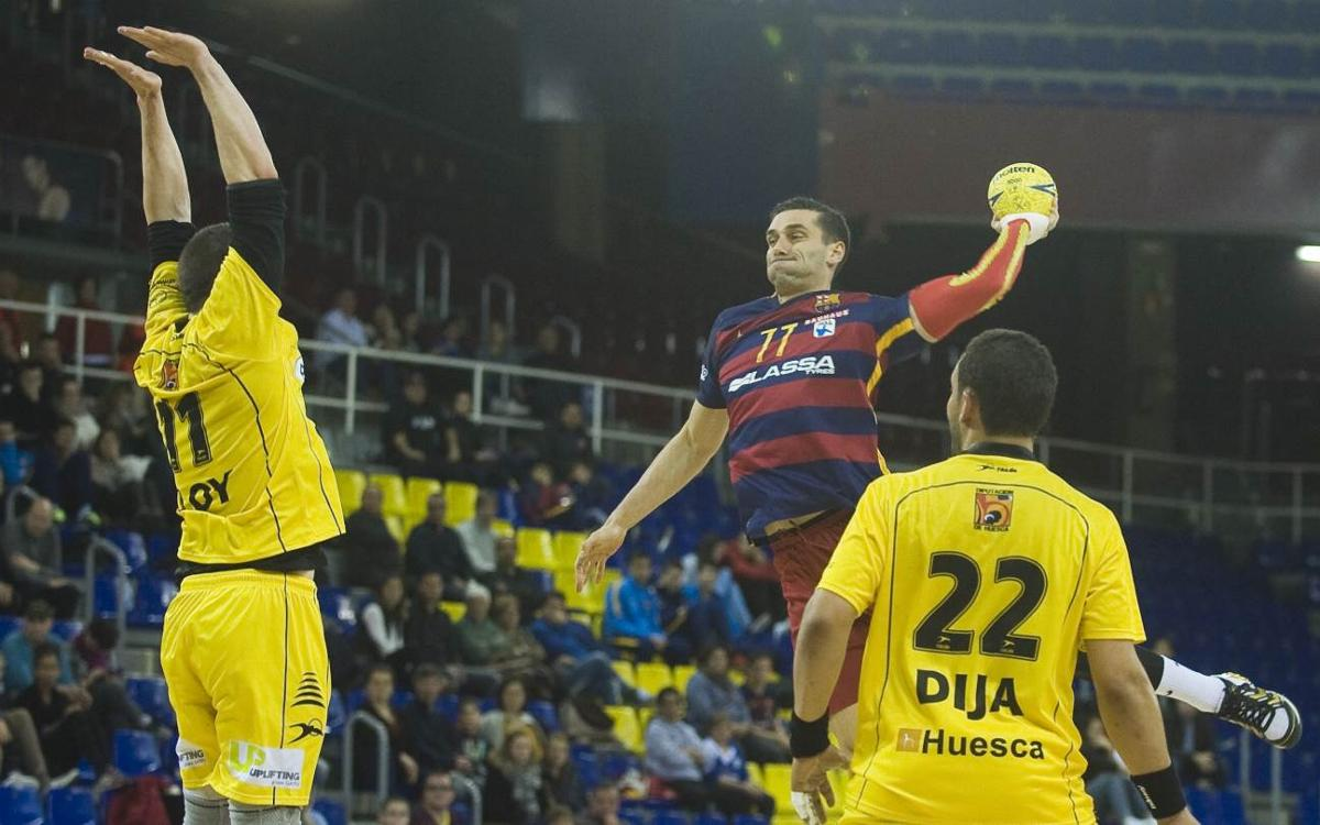 El Bada Huesca, rival del FC Barcelona Lassa en la Copa del Rey