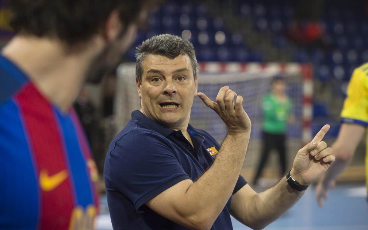 """Xavi Pascual: """"Els partits a Pamplona sempre són difícils"""""""