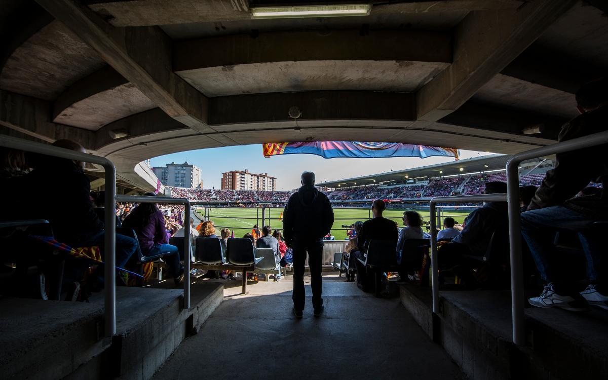 FC Barcelona Femení – Atlètic de Madrid: Entrades anticipades gratuïtes a taquilles i per internet des d'aquest dimarts