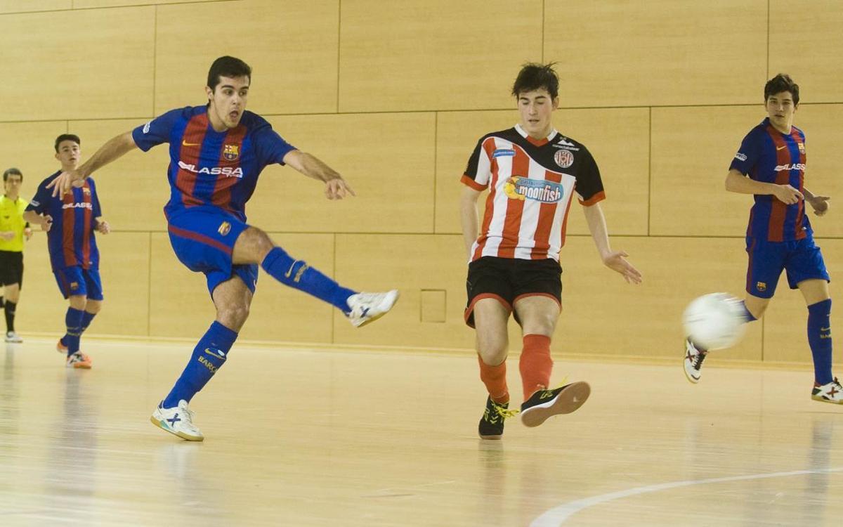 El Juvenil, preparado para el debut en la Copa de España 2017