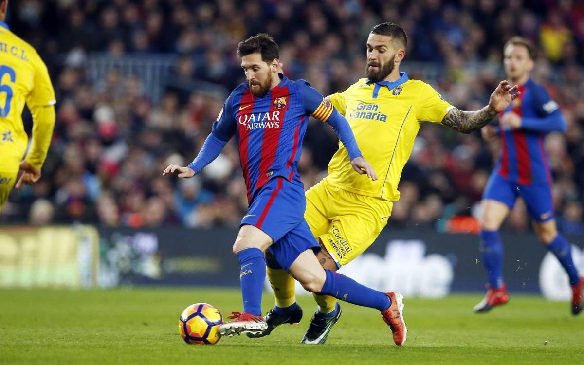 Las Palmas v FC Barcelona kick off time announced