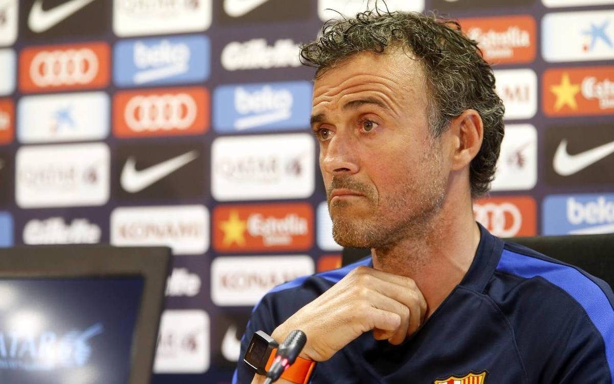 Luis Enrique: Villarreal are one of the league's toughest sides