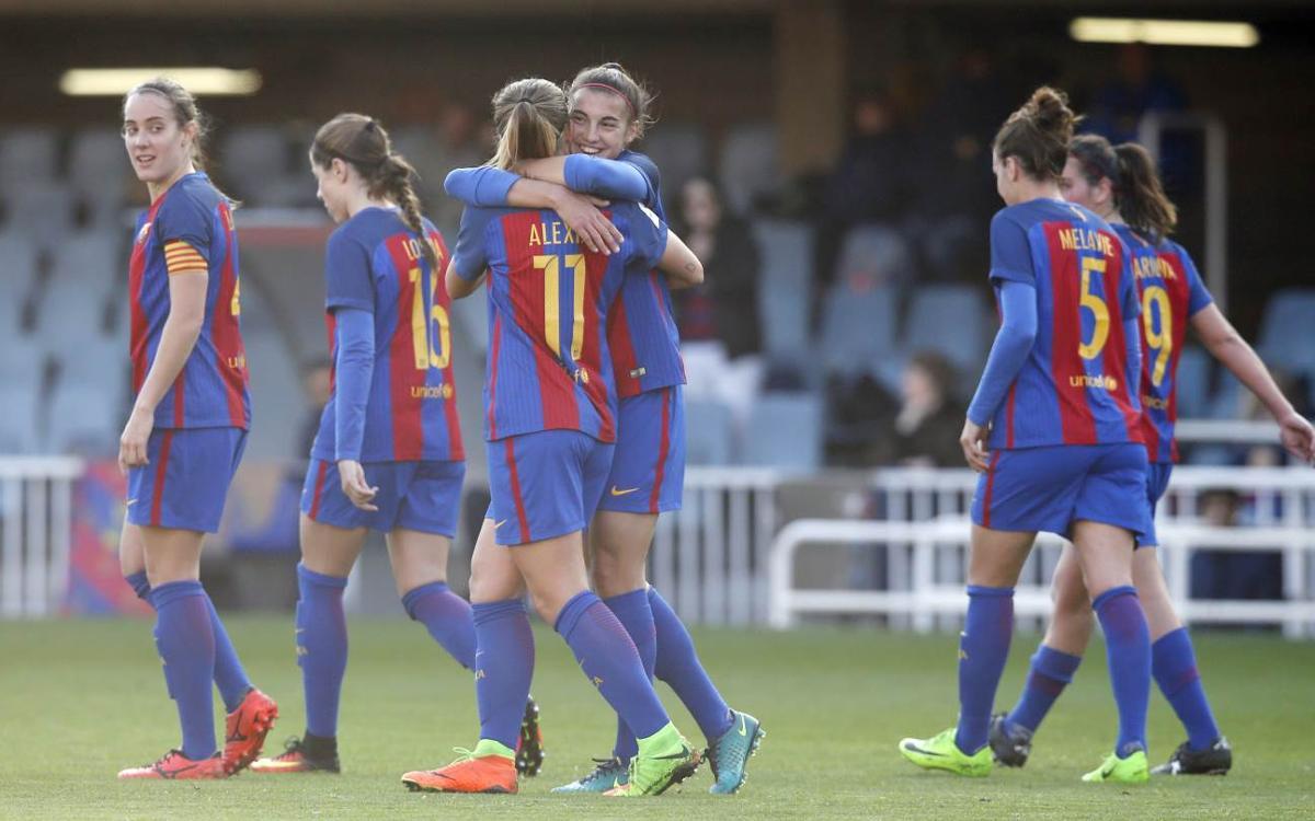 La Liga femenina, en cifras