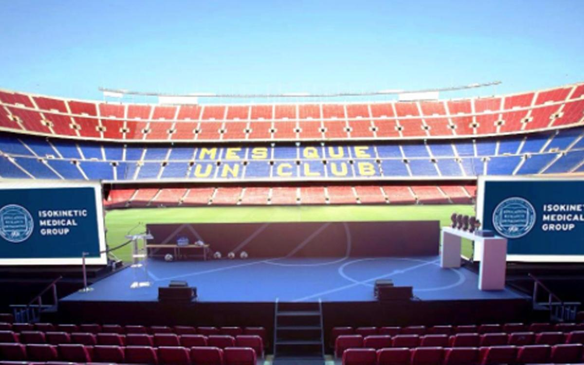 World's most important congress on football medicine and science to be held at Camp Nou this weekend