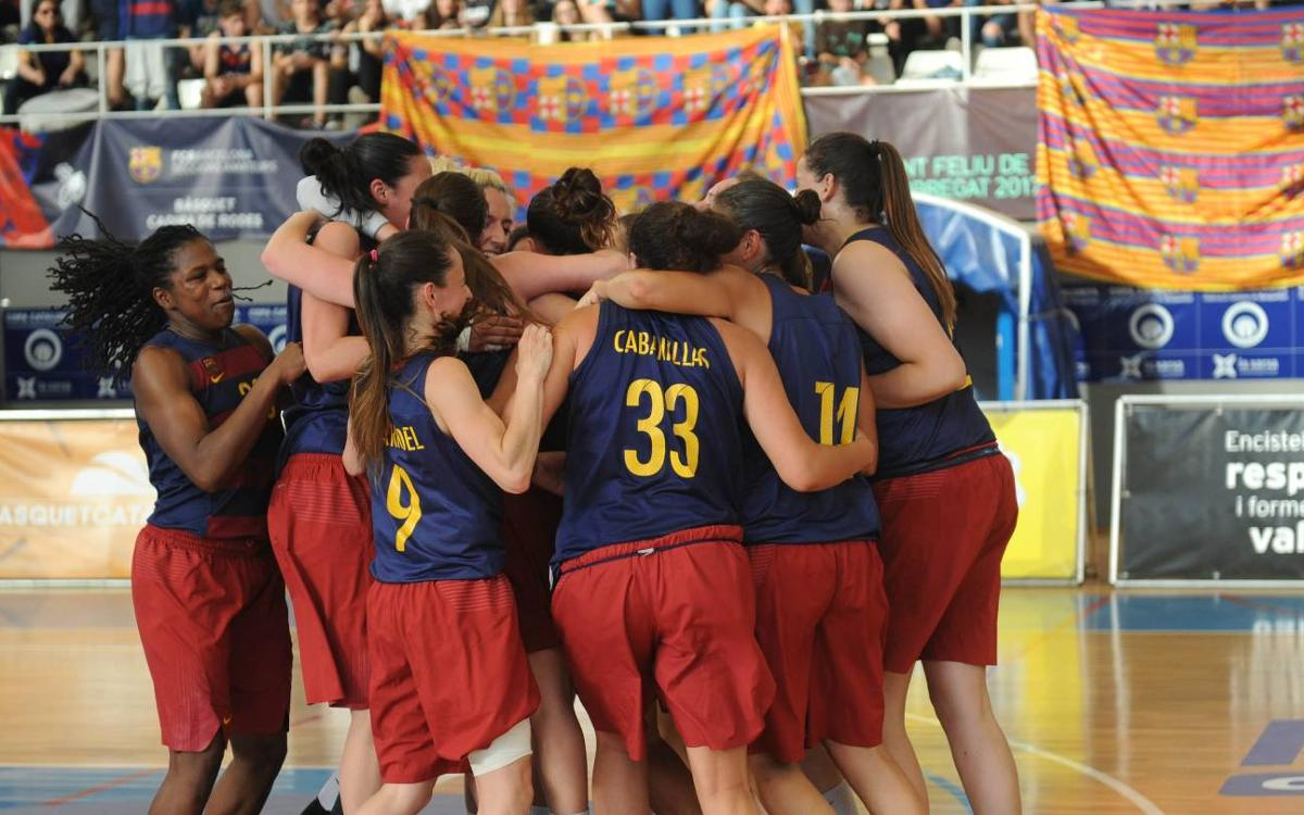 Barça CBS v Cerdanyola-Vila Universitària: Champions of the Copa Catalunya! (57-49)