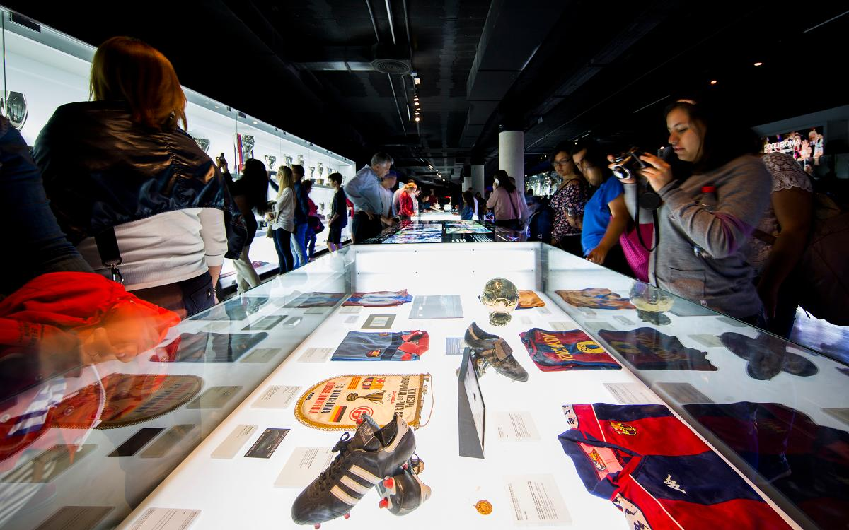 El FC Barcelona se suma a la Noche de los Museos