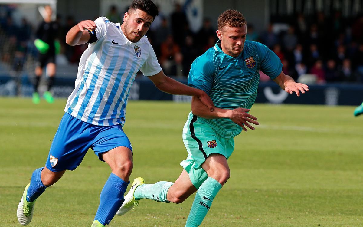 Málaga CF - Juvenil A: Derrota para despedirse de la Copa de Campeones (4-2)