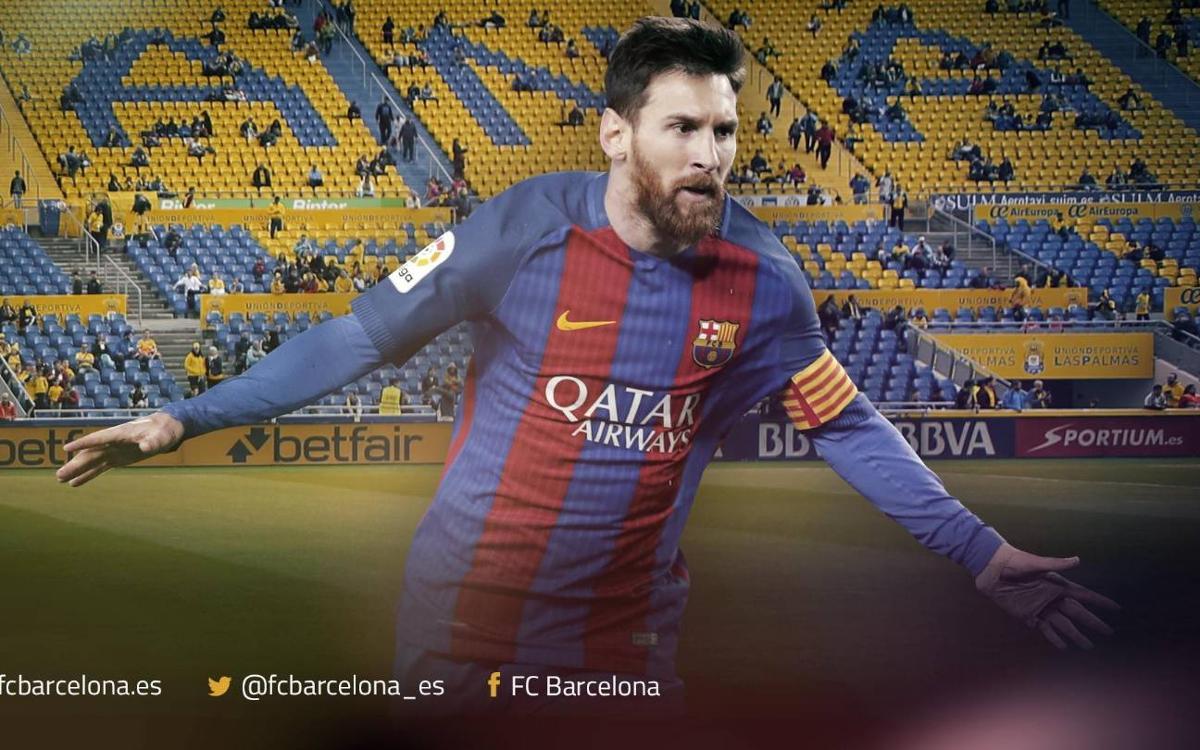 Las Palmas, el único territorio de Primera que le falta por conquistar a Leo Messi