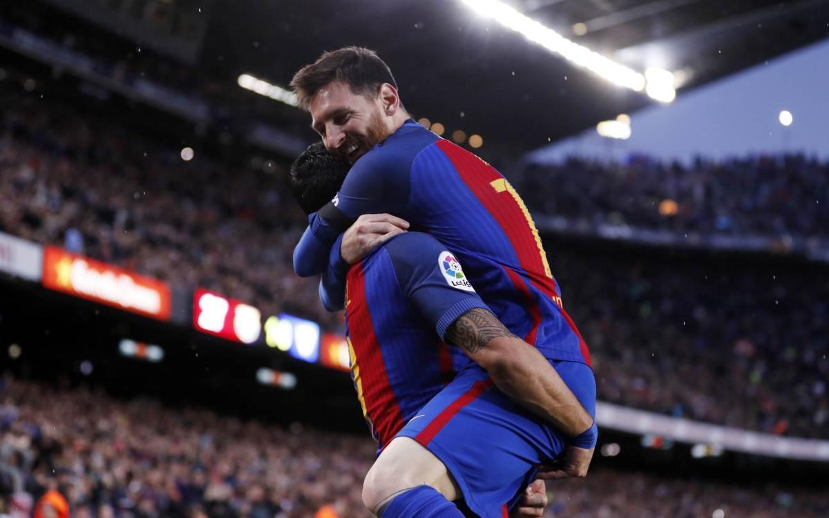 FC Barcelona - Sevilla FC: Espectáculo fulminante (3-0)
