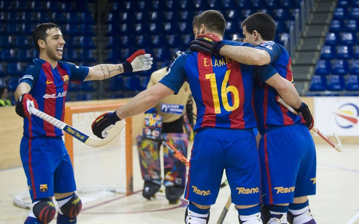 FC Barcelona Lassa v Enrile PAS Alcoy: Lead at the top extended (6-2)