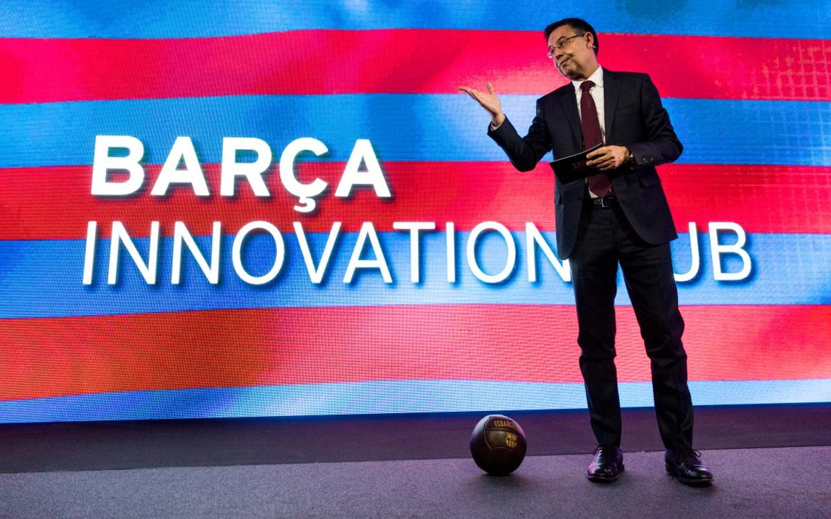 'Barça Innovation Hub' is presented to the world