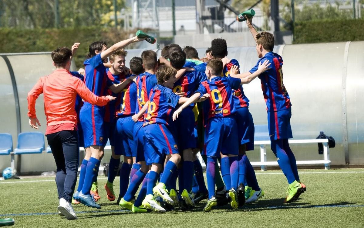 Top 5 goals from the youth teams at FC Barcelona