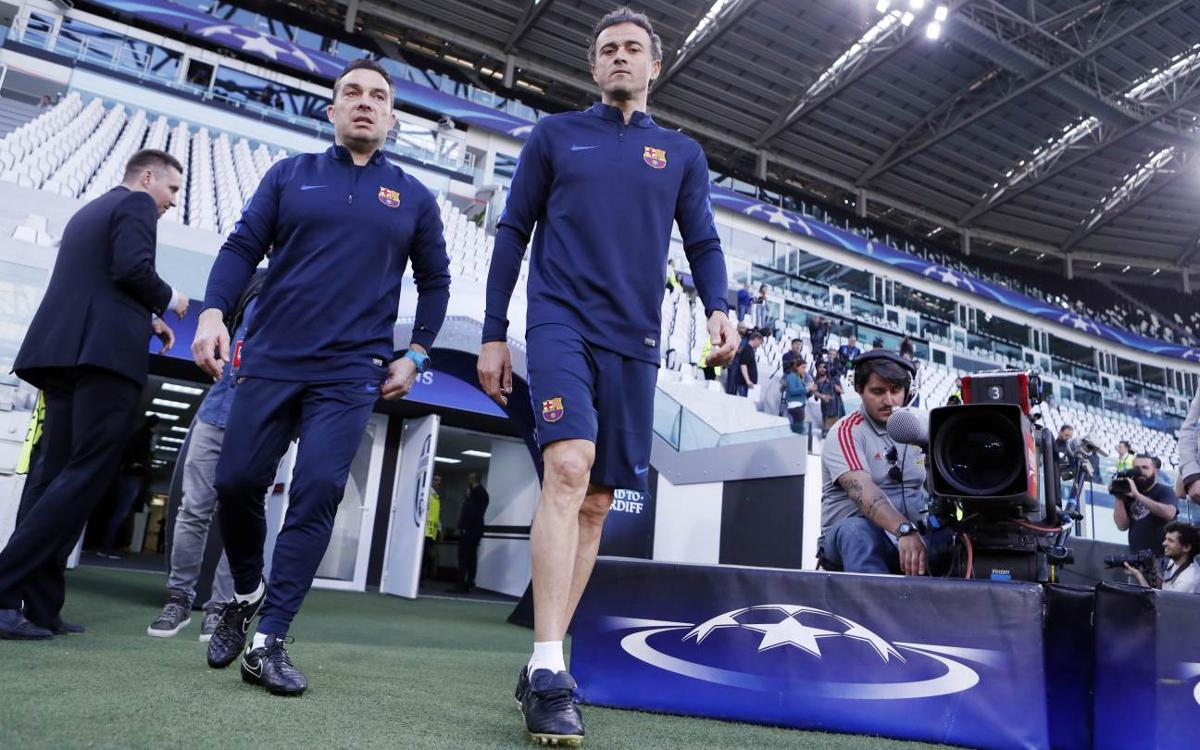Luis Enrique pregame quotes: Juventus vs FC Barcelona