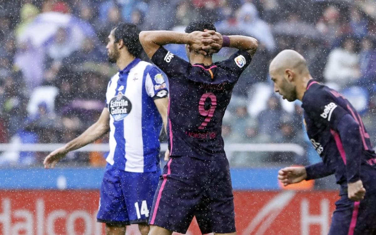 [MATCH REPORT] Deportivo la Coruña 2-1 FC Barcelona: Back down to earth