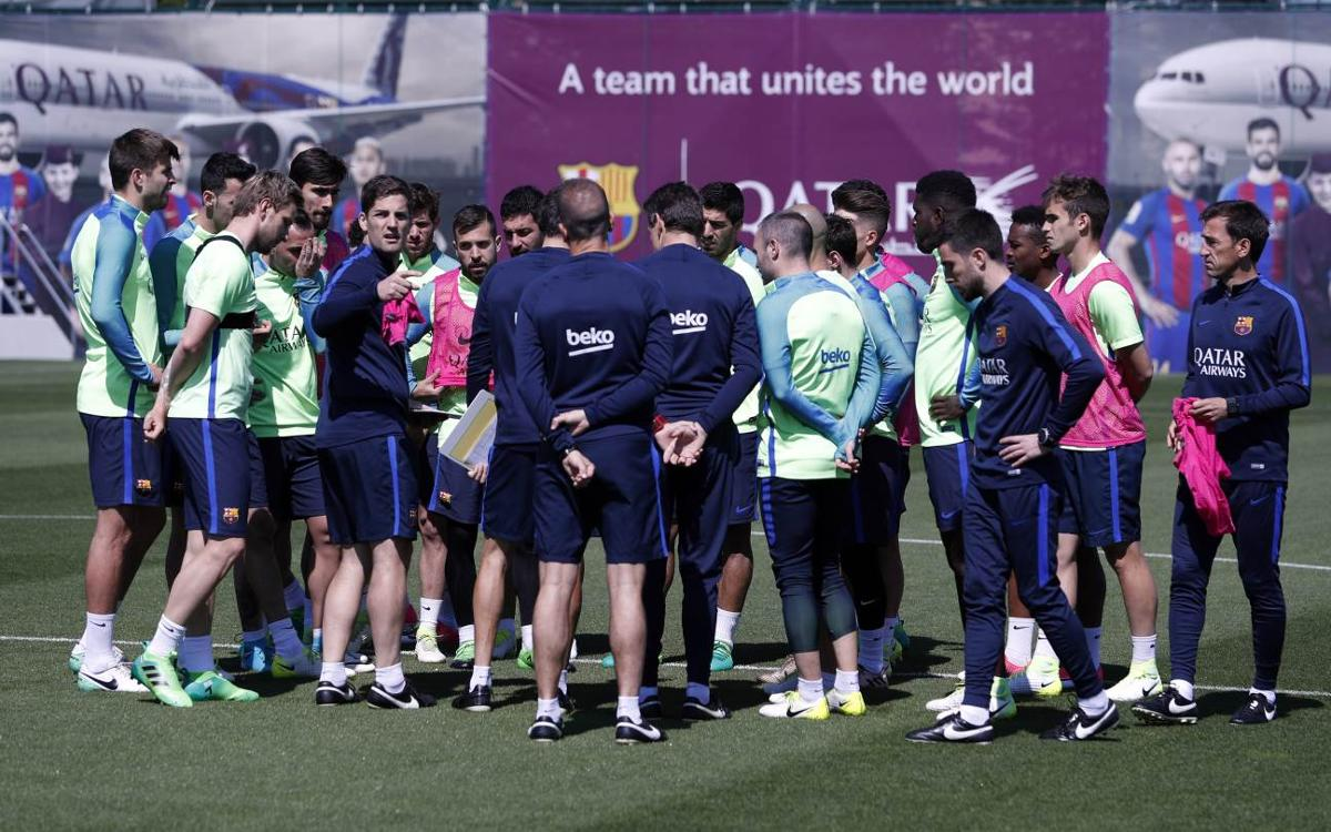 FC Barcelona's squad for the trip to Madrid for El Clásico