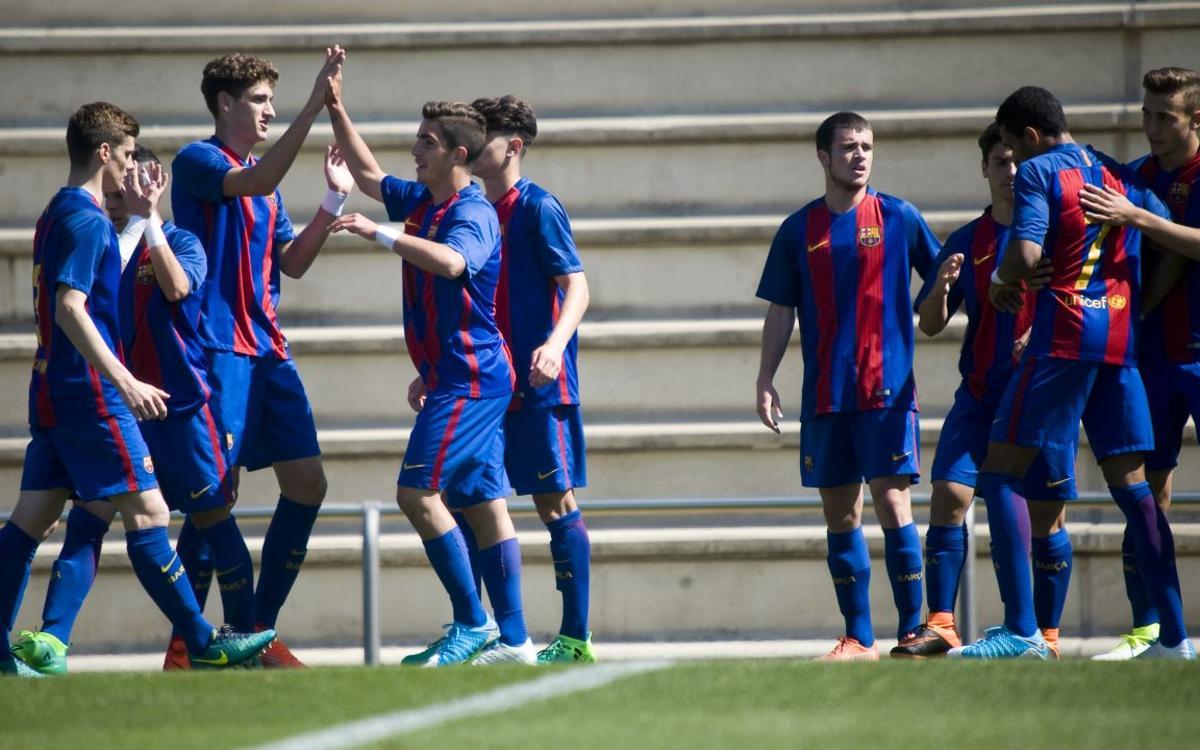 Juvenil A – Nàstic de Tarragona: Victoria contundente para despedir la Liga (6-0)