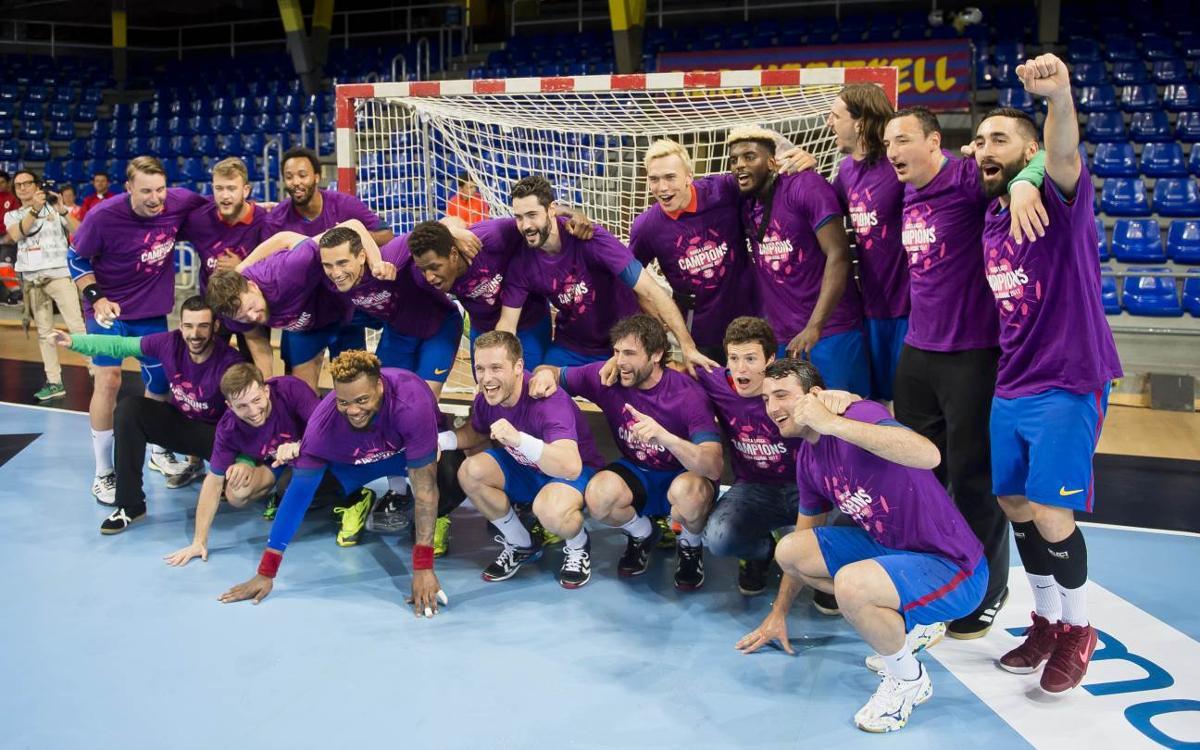 FC Barcelona Lassa - Bidasoa Irún: ¡Campeones de Liga Asobal! (39-25)