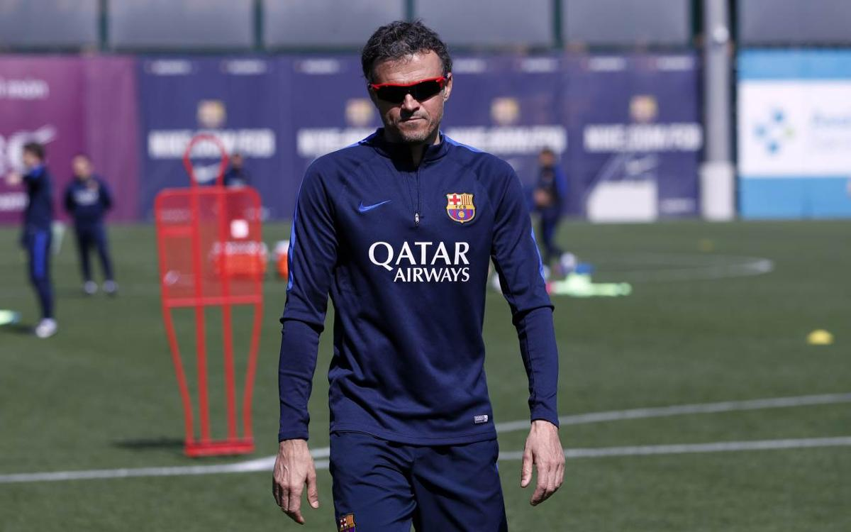 Luis Enrique: 'We all need the three points'