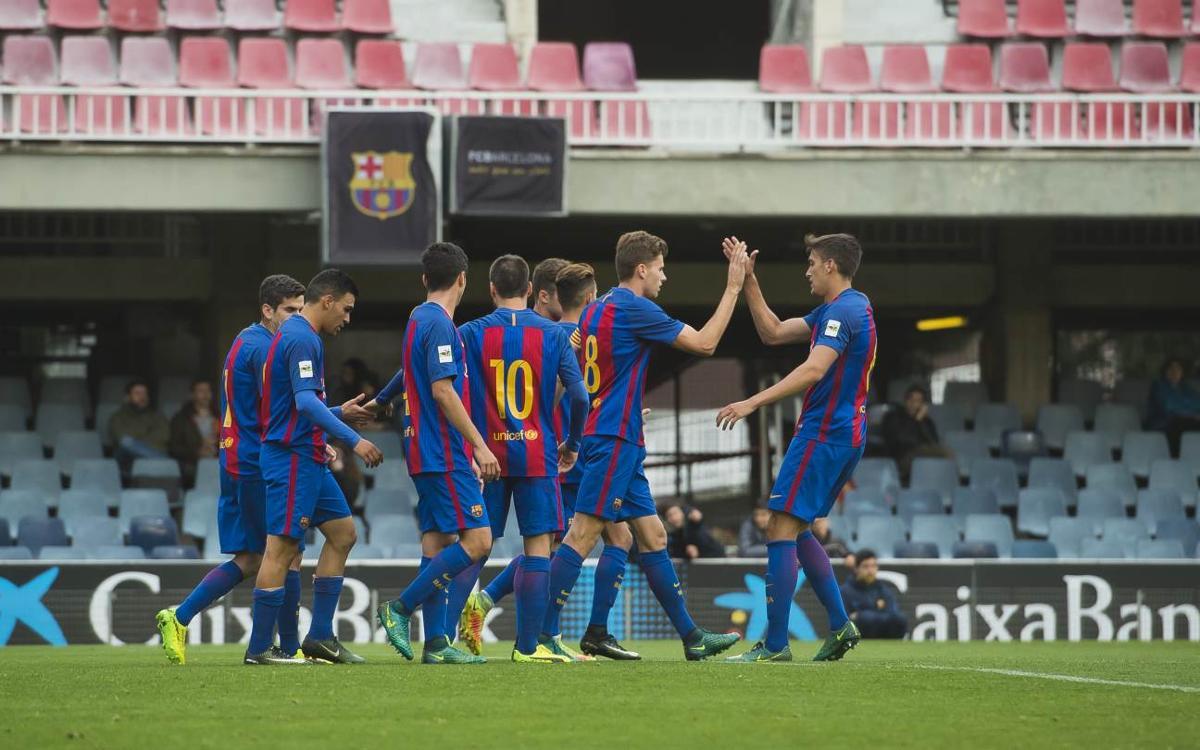 El Barça B busca asegurar el play-off en Badalona
