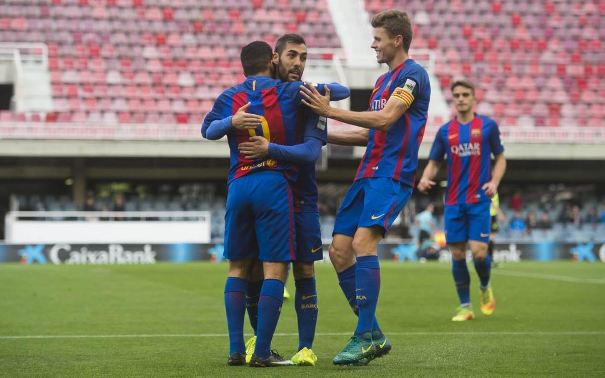 Barça B 12-0 Eldenc CD: Record breaking dozen