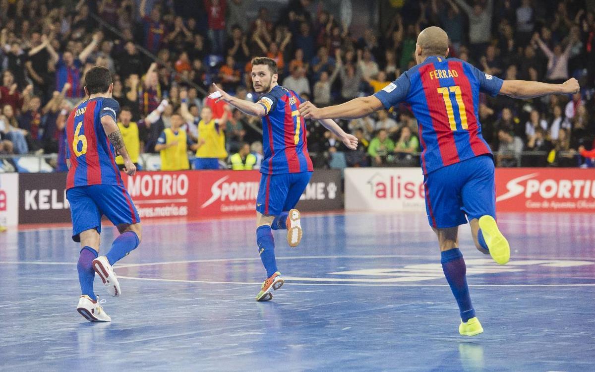FC Barcelona Lassa - Movistar Inter: Goleada de prestigio para acercarse al liderato (6-3)