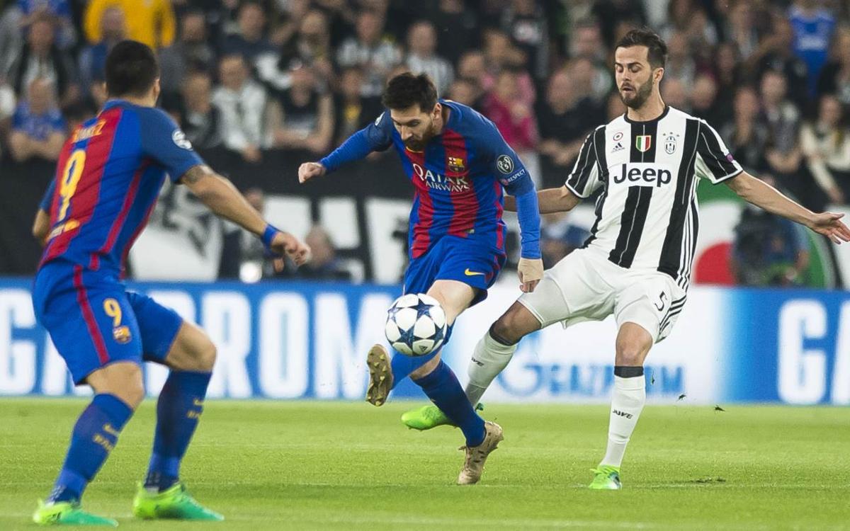Todo lo que tienes que saber del FC Barcelona - Juventus