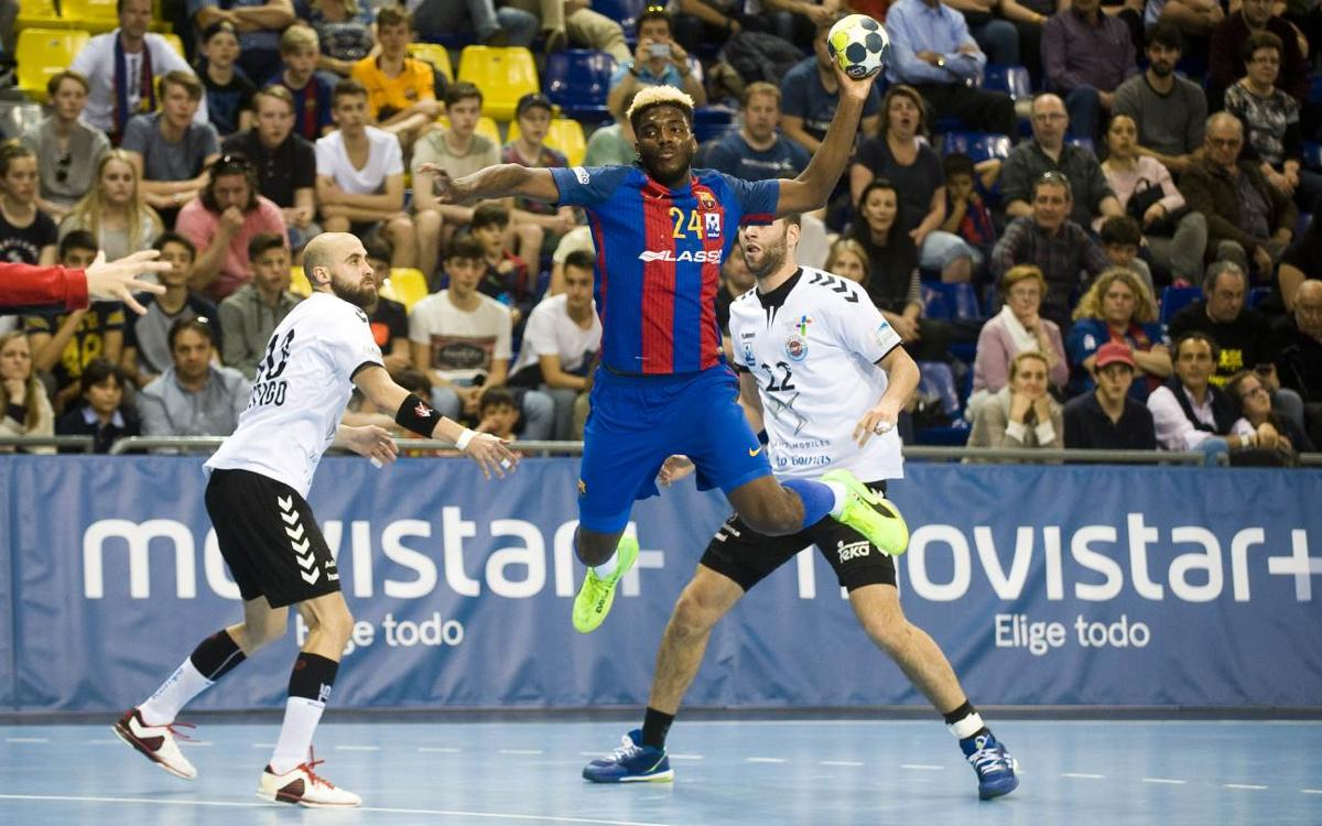 FC Barcelona Lassa - BM Sinfín: Victoria incontestable (39-25)